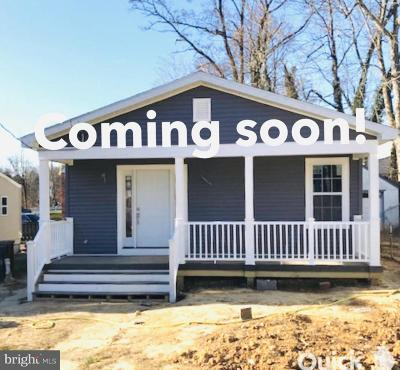 Capitol Heights Single Family Home For Sale: 4305 Byers Street