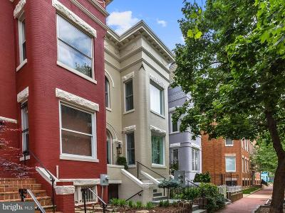 Washington Townhouse For Sale: 142 Seaton Place NW