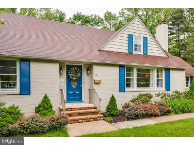 Moorestown Single Family Home For Sale: 5 W Spruce Avenue