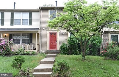 Gaithersburg Townhouse For Sale: 904 Curry Ford Lane
