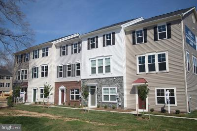 Glen Burnie Townhouse For Sale: Five Oaks Court