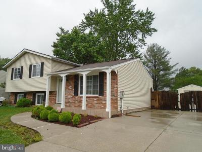 Laurel MD Single Family Home For Sale: $385,000