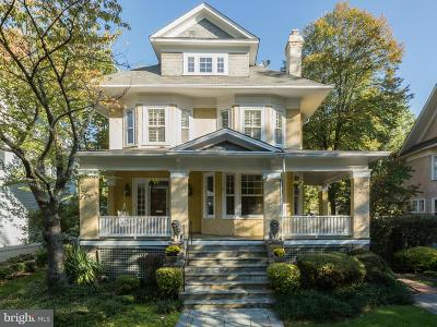 Chevy Chase MD Single Family Home For Sale: $1,995,000