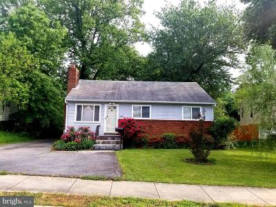 Woodbridge Single Family Home For Sale: 1625 Carter Lane