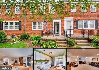 Towson Townhouse For Sale: 1530 Cottage Lane