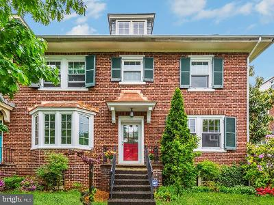 Baltimore Townhouse For Sale: 3937 Cloverhill Road