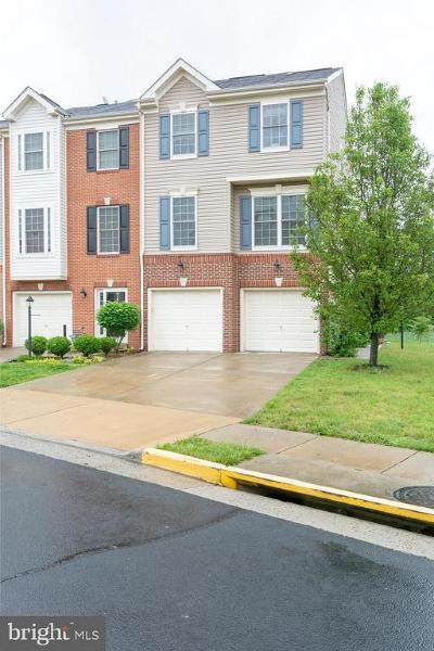 Manassas Townhouse For Sale: 8959 Brewer Creek Place
