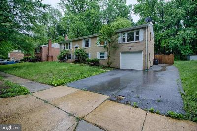 Fort Washington MD Single Family Home For Sale: $369,900