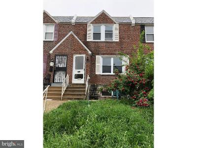 Philadelphia County Townhouse For Sale: 6743 Horrocks Street