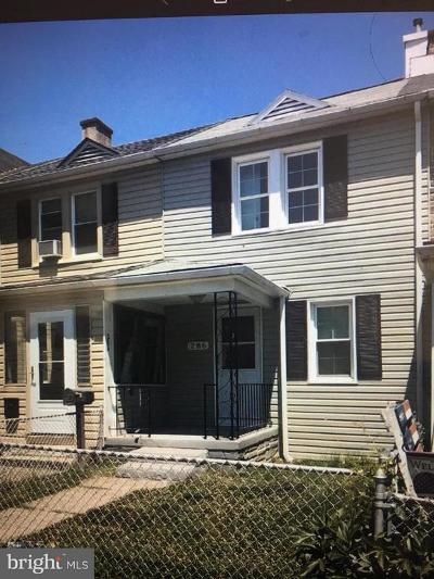 Baltimore County Rental For Rent: 286 Saint Helena Avenue