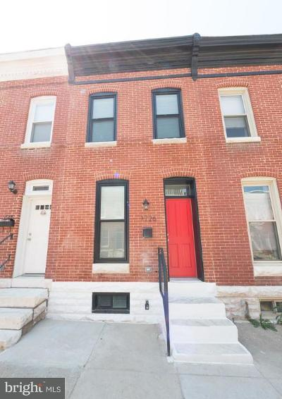 Baltimore Townhouse For Sale: 1726 Clarkson Street