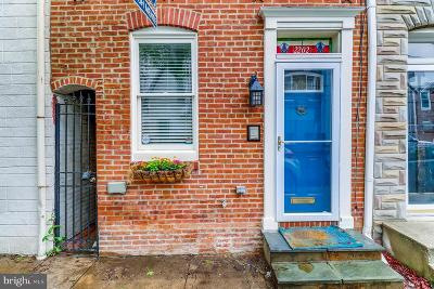 Baltimore Townhouse For Sale: 2202 Cambridge Street