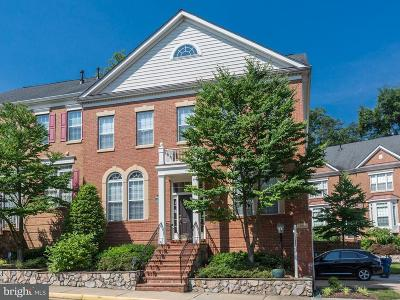 Vienna Townhouse For Sale: 1866 Amberwood Manor Court