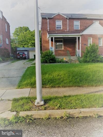 Baltimore Single Family Home For Sale: 2912 Harview Avenue