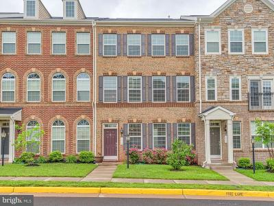 Leesburg Townhouse For Sale: 1546 Kinnaird Terrace NE