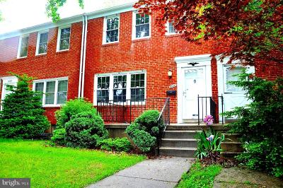 Baltimore Townhouse For Sale: 1620 Glen Keith Boulevard