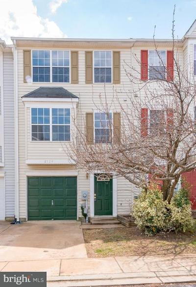 Frederick Townhouse For Sale: 1324 Hampshire Drive #7B