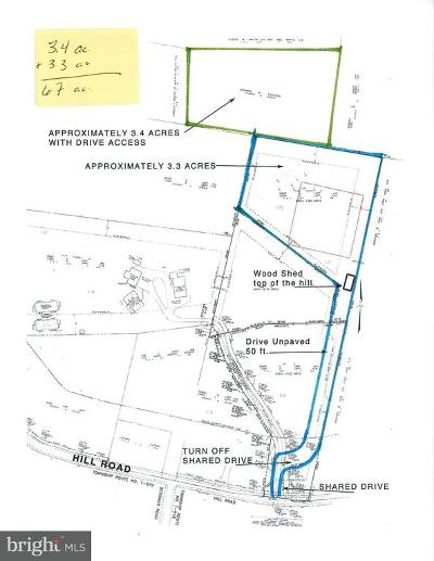 Residential Lots & Land For Sale: Hill Road