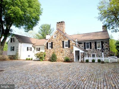Bryn Mawr Single Family Home For Sale: 109 Cumberland Place