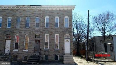 Mondawmin Townhouse For Sale: 2023 Walbrook Avenue