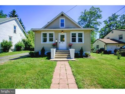 Moorestown Single Family Home For Sale: 103 S Garfield Avenue