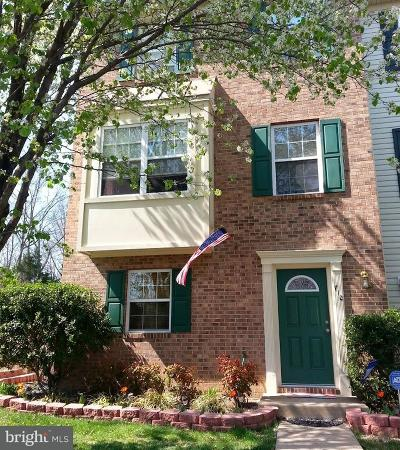 Frederick Townhouse For Sale: 710 Clint Lane