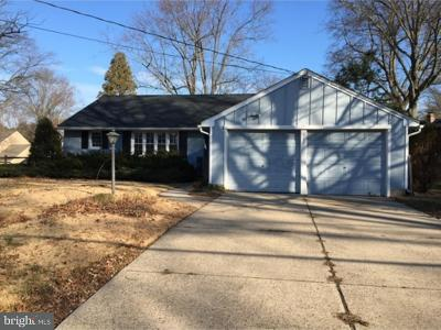 Cherry Hill Single Family Home For Sale: 116 Courtland Road