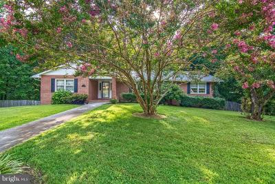 Front Royal Single Family Home Under Contract: 342 Dungadin Road
