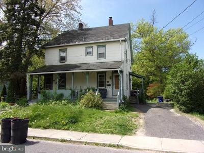 Moorestown NJ Single Family Home For Sale: $96,900