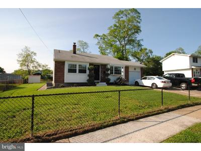 Edgewater Park NJ Single Family Home For Sale: $189,900