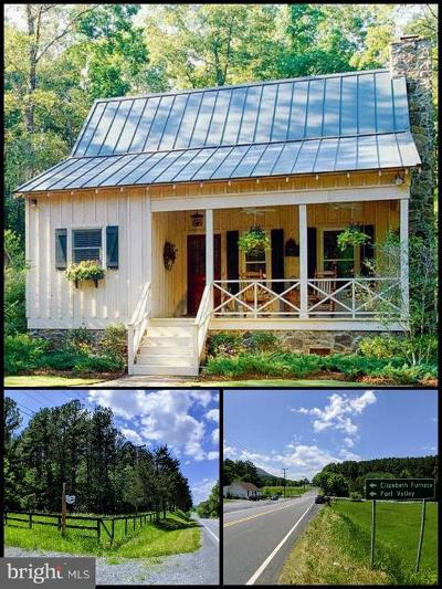 Warren County Single Family Home For Sale: Strasburg Road