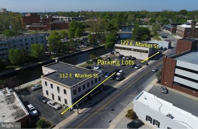 Somerset County, Wicomico County, Worcester County Commercial For Sale: 112-122 E Market Street