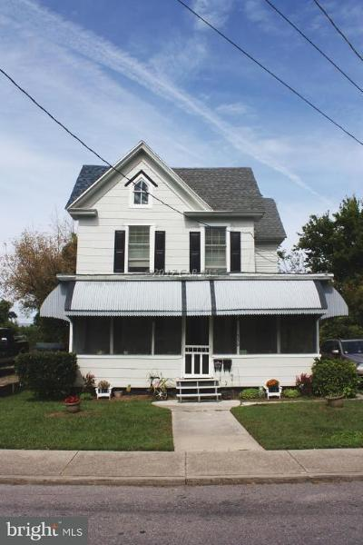 Crisfield Single Family Home For Sale: 330 Pine Street
