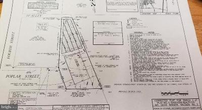 Wicomico County, WICOMICO COUNTY Residential Lots & Land For Sale: Poplar Street