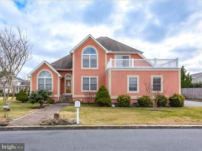 Ocean City Single Family Home For Sale: 1555 Teal Drive