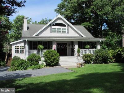 Salisbury Single Family Home For Sale: 1012 Riverside Drive