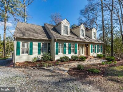 Bishopville Single Family Home For Sale: 12442 Collins Road