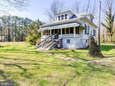 Marion Station Single Family Home For Sale: 28940 Hudson Corner Road