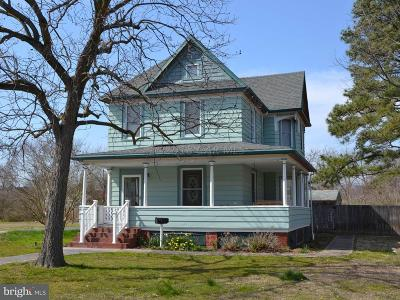 Crisfield Single Family Home Under Contract: 26 Cove Street