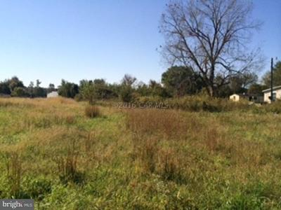 Worcester County, WORCESTER COUNTY Residential Lots & Land For Sale: 5704 Onley Road