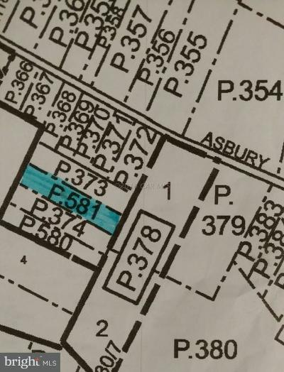 Somerset County Residential Lots & Land For Sale: Asbury Avenue