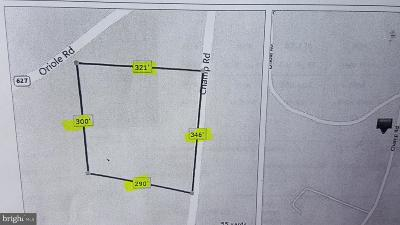 Somerset County Residential Lots & Land Under Contract: Champ Road