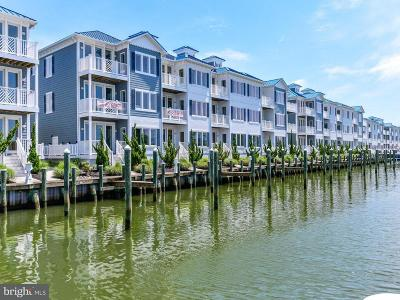 Ocean City Townhouse For Sale: 13000 Marina View Lane #24
