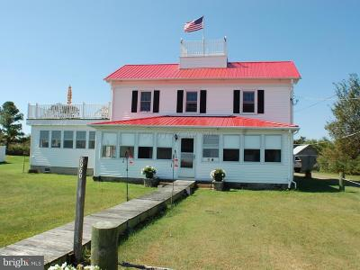 Deal Island Single Family Home For Sale: 8960 Deal Island Road