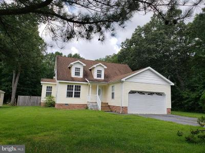 Pocomoke City Single Family Home For Sale: 808 White Oaks Lane