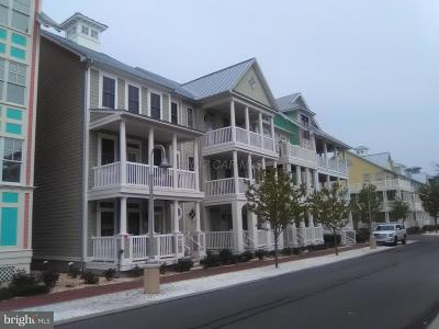 Ocean City Townhouse For Sale: 3 Fountain Drive W #3K