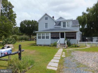 Deal Island Single Family Home For Sale: 10195 Deal Island Road
