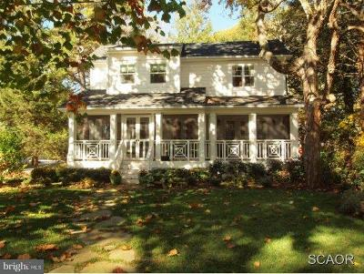 Rehoboth Beach Single Family Home For Sale: 33 Park Avenue