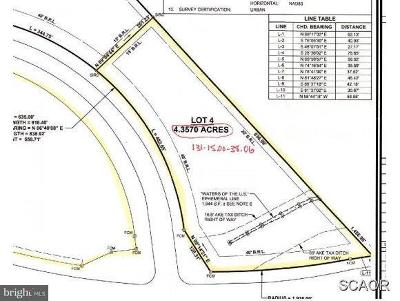 Bridgeville Residential Lots & Land For Sale: E Service Rd And Rt 404