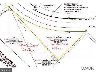 Bridgeville Residential Lots & Land For Sale: East Service Rd